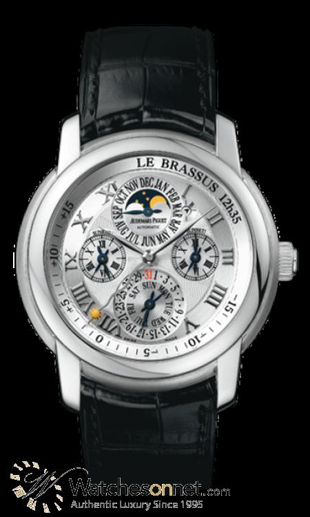 Audemars Piguet Jules Audemars  Perpetual Calendar Men's Watch, 18K White Gold, Silver Dial, 26003BC.OO.D002CR.01