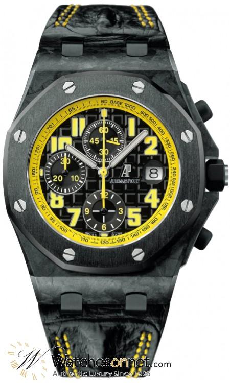 Audemars Piguet Royal Oak Offshore  Chronograph Automatic Men's Watch, Carbon Fiber, Black Dial, 26176FO.OO.D101CR.02