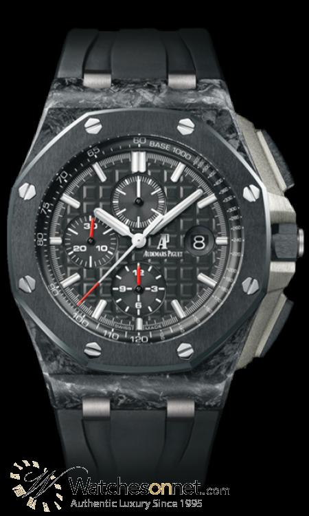 Audemars Piguet Royal Oak Offshore Limited Edition  Chronograph Automatic Men's Watch, Carbon Fiber, Black Dial, 26400AU.OO.A002CA.01