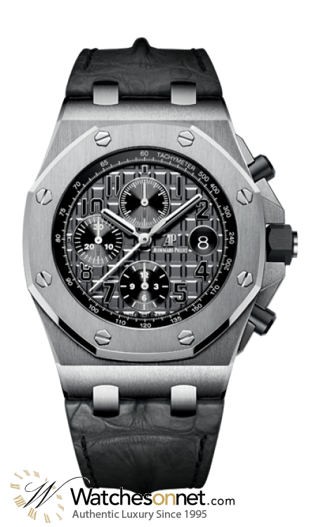 Audemars Piguet Royal Oak Offshore  Chronograph Automatic Men's Watch, Stainless Steel, Grey Dial, 26470ST.OO.A104CR.01