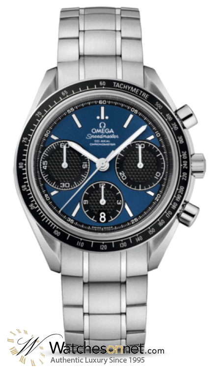 Omega Speedmaster  Chronograph Automatic Men's Watch, Stainless Steel, Blue Dial, 326.30.40.50.03.001