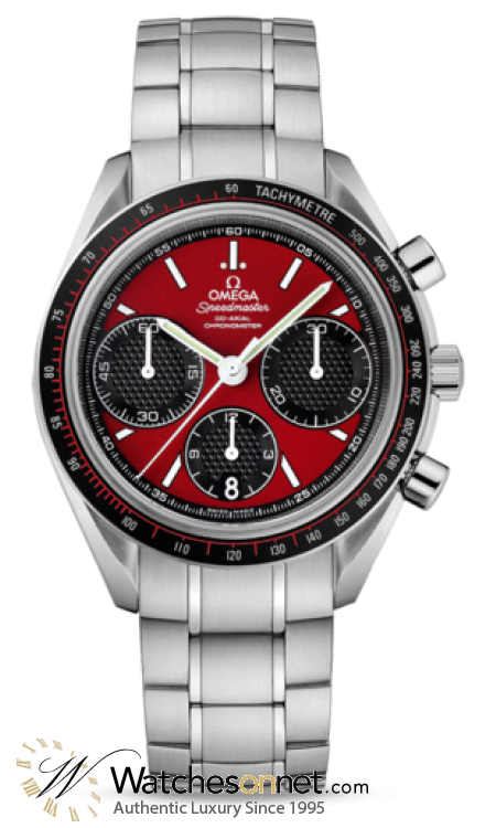 Omega Speedmaster  Chronograph Automatic Men's Watch, Stainless Steel, Red Dial, 326.30.40.50.11.001