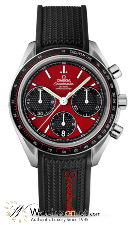 Omega Speedmaster  Chronograph Automatic Men's Watch, Stainless Steel, Red Dial, 326.32.40.50.11.001
