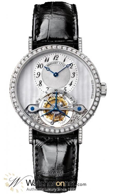 Breguet Classique Complications  Manual Winding Men's Watch, 18K White Gold, Silver Dial, 3358BB/52/986.DD00