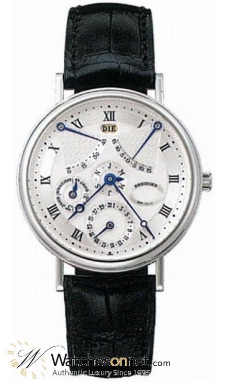 Breguet Classique Complications  Automatic Men's Watch, Platinum, Silver Dial, 3477PT/1E/986