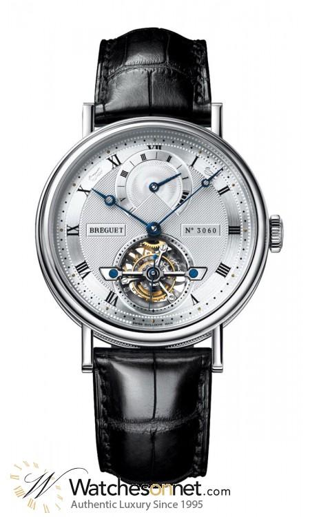 Breguet Classique Complications  Automatic Men's Watch, Platinum, Silver Dial, 5317PT/12/9V6