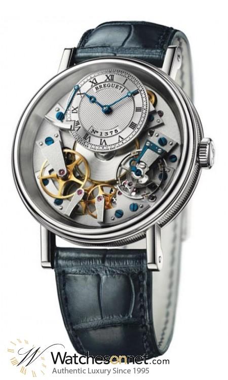 Breguet Tradition  Manual Winding Men's Watch, 18K White Gold, Skeleton Dial, 7057BB/11/9W6