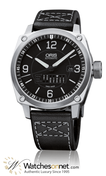 Oris BC4  Automatic Men's Watch, Stainless Steel, Black Dial, 735-7617-4164-07-5-22-58FC