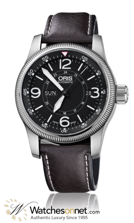 Oris Big Crown  Automatic Men's Watch, Stainless Steel, Black Dial, 735-7660-4064-07-5-22-78