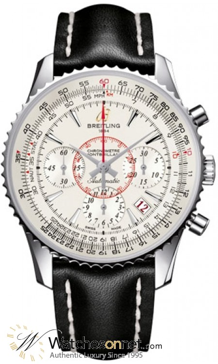 Breitling Montbrillant 01  Automatic Men's Watch, Stainless Steel, Silver Dial, AB013112.G709.428X