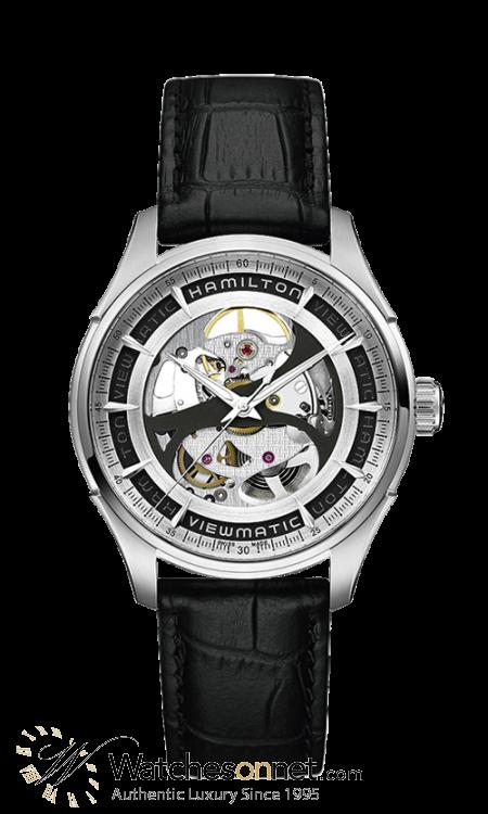 Hamilton Jazzmaster  Automatic Men's Watch, Stainless Steel, Skeleton Dial, H42555751