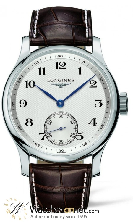 Longines Master  Automatic Men's Watch, Stainless Steel, White Dial, L2.640.4.78.3