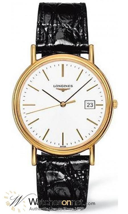 Longines La Grande Classique  Quartz Men's Watch, Steel & Gold Tone, White Dial, L4.790.2.12.2