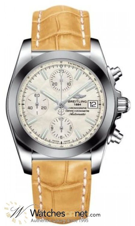 Breitling Galactic 41  Automatic Men's Watch, Stainless Steel, White Dial, W1331012.A774.730P