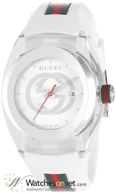 Gucci Sync  Quartz Women's Watch, Stainless Steel, Silver Dial, YA137302