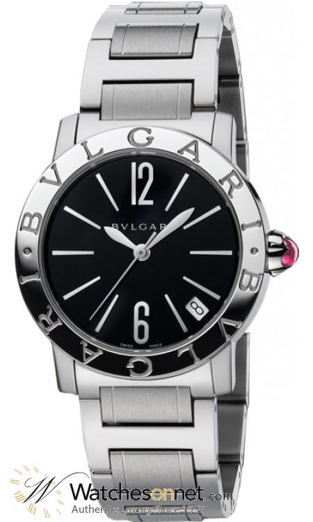 Bvlgari Serpenti  Quartz Women's Watch, 18K White Gold, Diamond Pave Dial, BBL26BSSD