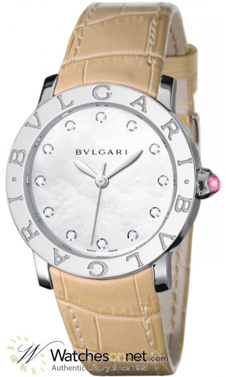 Bvlgari Octo  Automatic Men's Watch, Stainless Steel, Black Dial, BBL37WSL/12