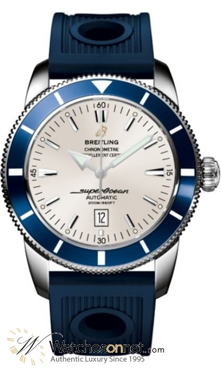 Breitling Superocean Heritage 46  Automatic Men's Watch, Stainless Steel, Silver Dial, A1732016.G642.205S