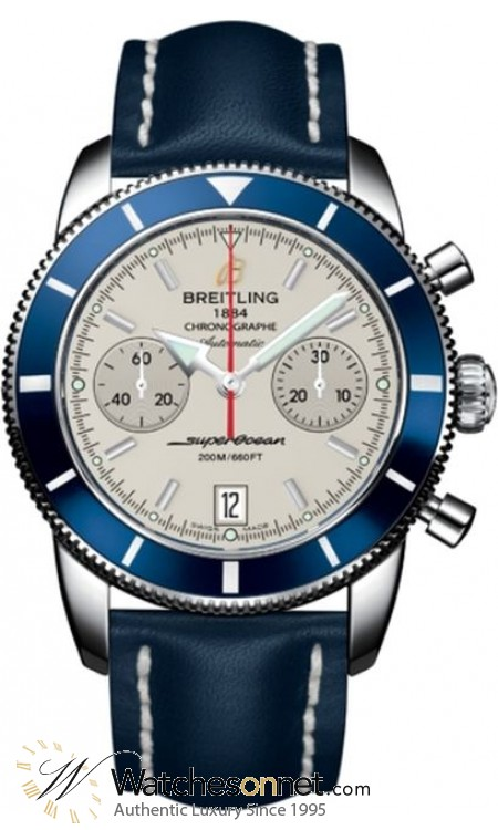 Breitling Superocean Heritage Chronographe 44  Chronograph Automatic Men's Watch, Stainless Steel, Silver Dial, A2337016.G753.105X