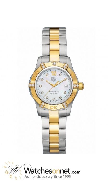 Tag Heuer Aquaracer  Quartz Women's Watch, , White Dial, WAF1451.BB0814