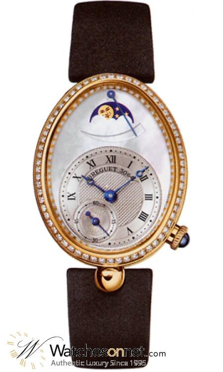 Breguet Reine De Naples  Automatic Women's Watch, 18K Yellow Gold, Mother Of Pearl Dial, 8908BA/52/864 D00D