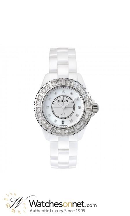 Chanel J12 Jewelry  Quartz Women's Watch, Ceramic, White Dial, H2429