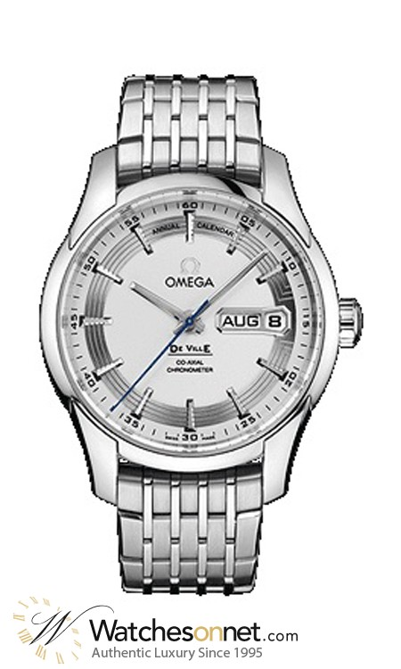 Omega De Ville Hour Vision  Automatic Men's Watch, Stainless Steel, Silver Dial, 431.30.41.22.02.001