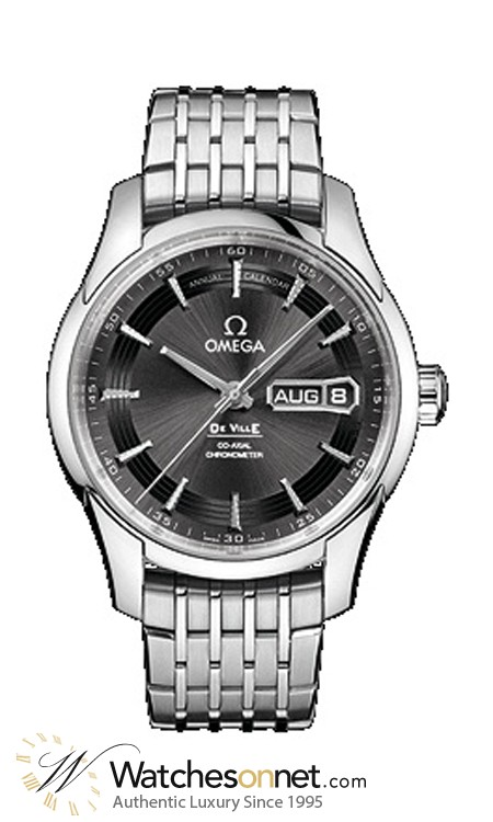 Omega De Ville Hour Vision  Automatic Men's Watch, Stainless Steel, Black Dial, 431.30.41.22.06.001