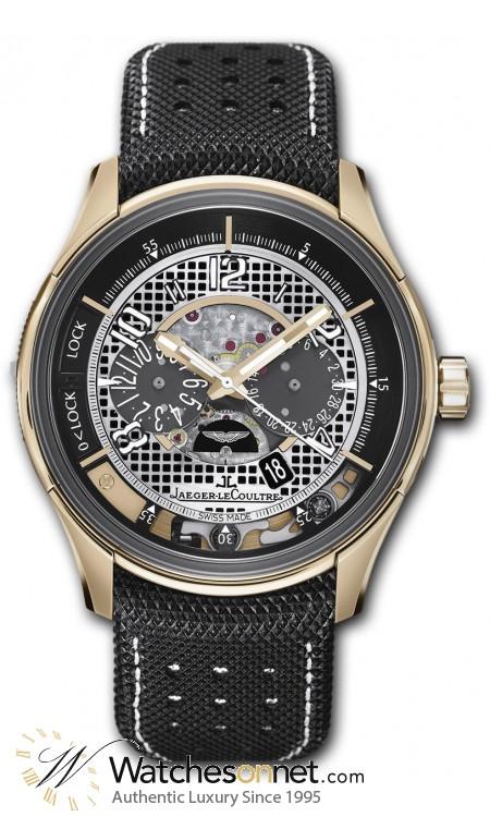 Jaeger Lecoultre Amvox  Chronograph Automatic Men's Watch, Titanium & Rose Gold, Black Dial, 1972472