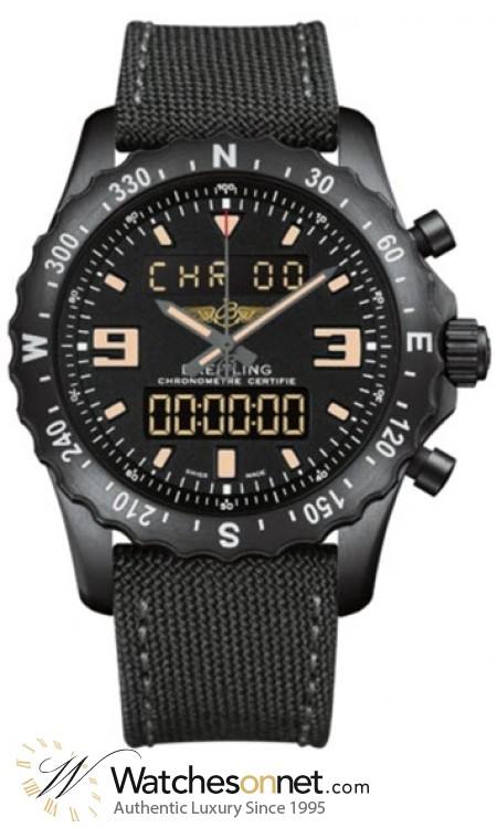 Breitling Chronospace  Automatic Men's Watch, Titanium, Black Dial, M7836622.BD39.100W
