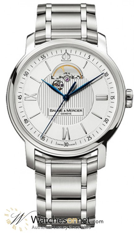 Baume & Mercier Classima  Automatic Men's Watch, Stainless Steel, Silver Dial, MOA08833