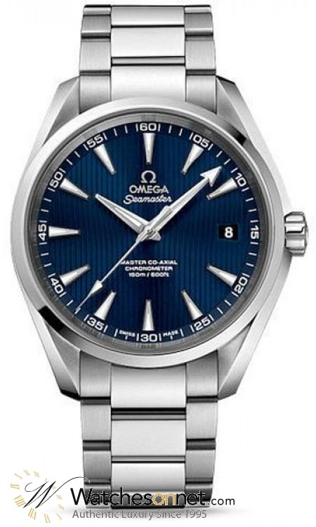 Omega Aqua Terra  Automatic Men's Watch, Stainless Steel, Blue Dial, 231.10.42.21.03.003