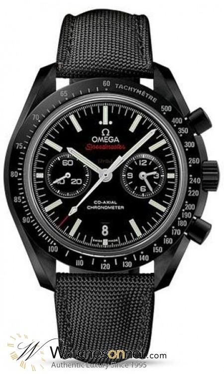 Omega Speedmaster  Chronograph Automatic Men's Watch, Ceramic, Black Dial, 311.92.44.51.01.003