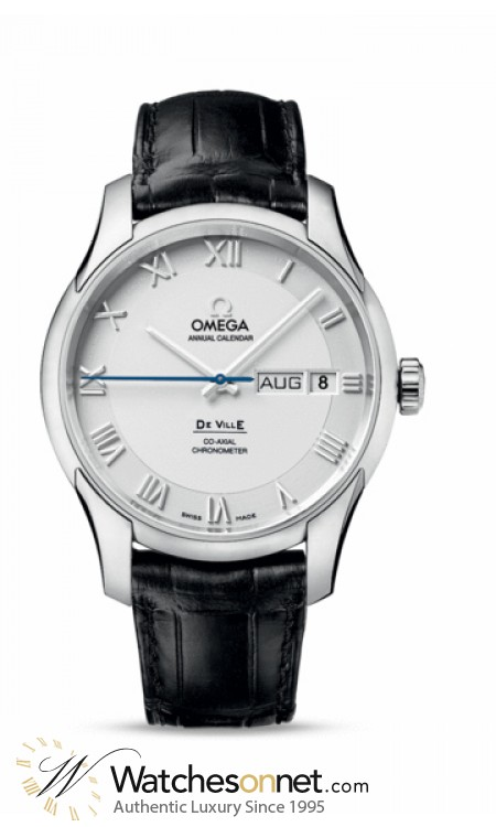 Omega De Ville  Automatic Men's Watch, Stainless Steel, White Dial, 431.13.41.22.02.001