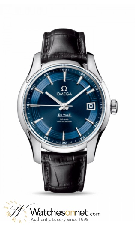 Omega De Ville Hour Vision  Automatic Men's Watch, Stainless Steel, Blue Dial, 431.33.41.21.03.001