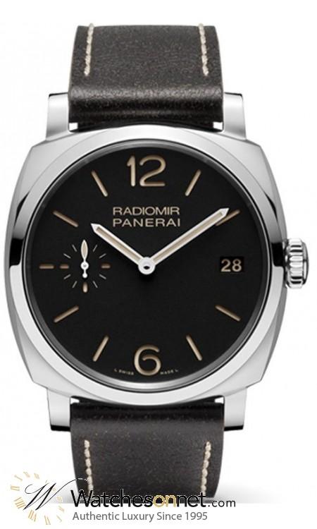 Panerai Radiomir 1940  Mechanical Men's Watch, Stainless Steel, Black Dial, PAM00514