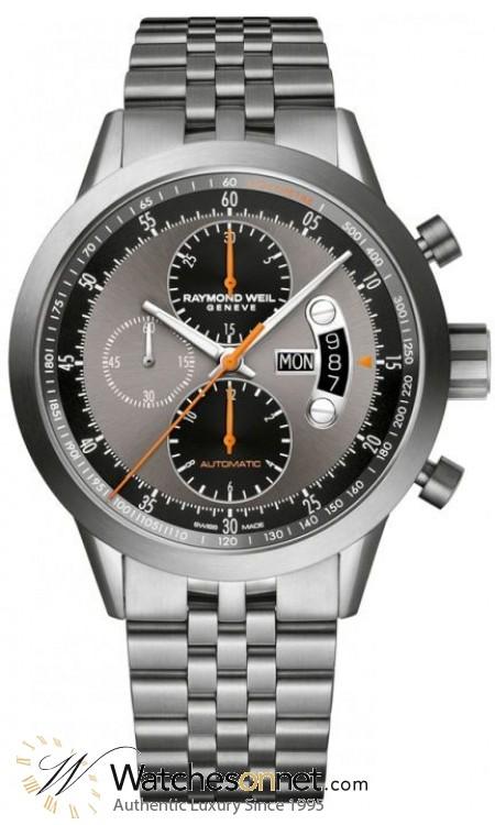 Raymond Weil Freelancer  Chronograph Automatic Men's Watch, Titanium, Grey Dial, 7745-TI-05609