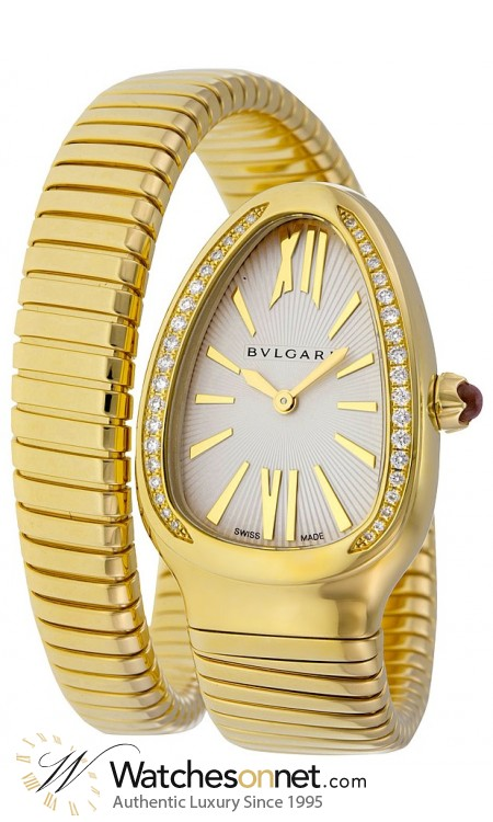 Bvlgari Bvlgari Bvlgari  Automatic Men's Watch, Stainless Steel, Silver Dial, SP35C6GDG.1T