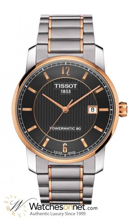 Tissot Titanium  Automatic Men's Watch, Titanium, Anthracite Dial, T087.407.55.067.00