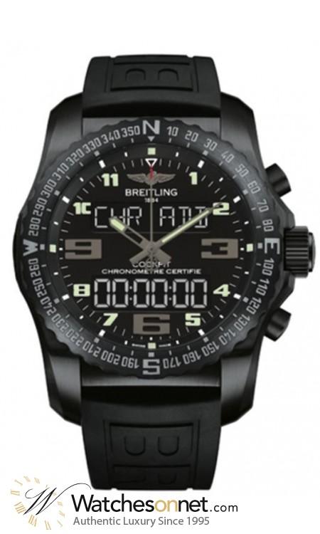 Breitling Cockpit B50  Automatic Men's Watch, Titanium, Black Dial, VB501022.BD41.155S