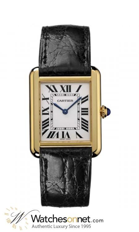 Cartier Tank Solo W5200004 Men S Stainless Steel Quartz Watch