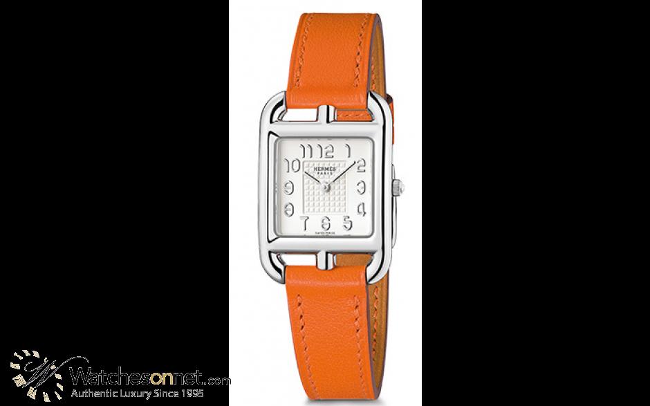 Hermes Cape Cod  Quartz Women's Watch, Stainless Steel, Silver Dial, 040320WW00