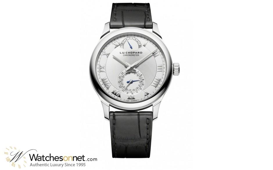 Chopard L.U.C  Automatic Men's Watch, 18K White Gold, Silver Dial, 161926-1001