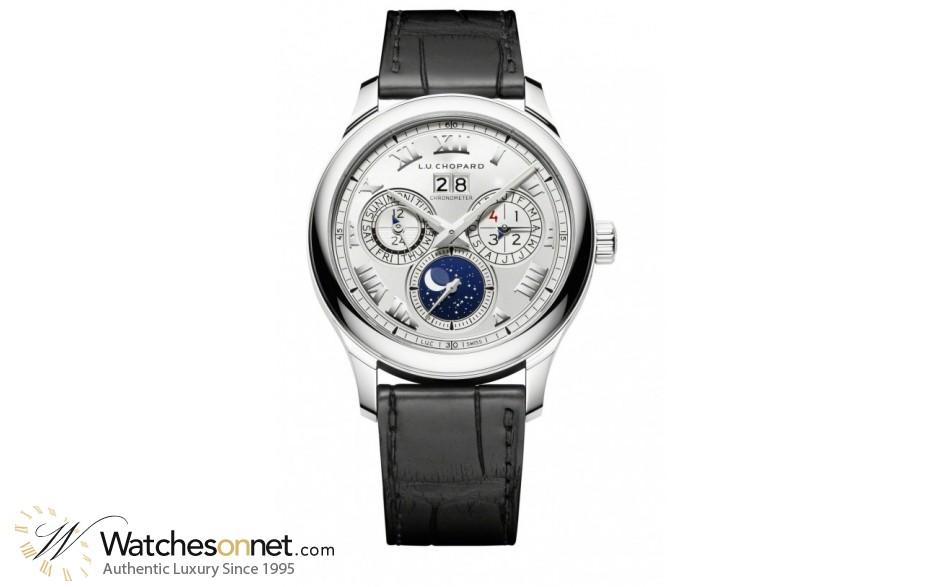 Chopard L.U.C  Automatic Men's Watch, 18K White Gold, Silver Dial, 161927-1001