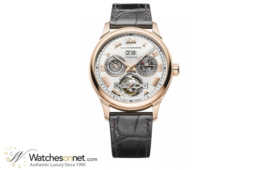 Chopard L.U.C  Automatic Men's Watch, 18K Rose Gold, Silver Dial, 161940-5001