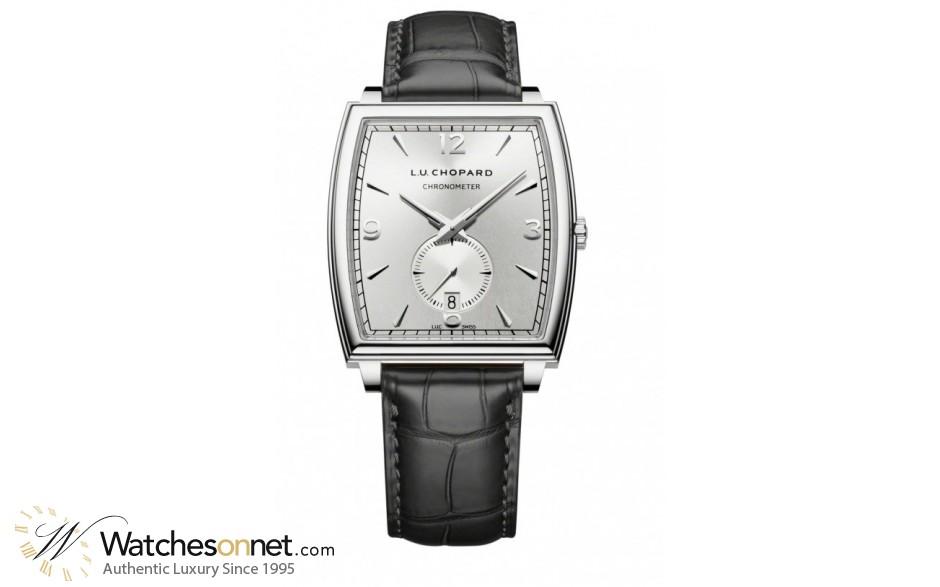 Chopard L.U.C  Automatic Men's Watch, 18K White Gold, Silver Dial, 162294-1001
