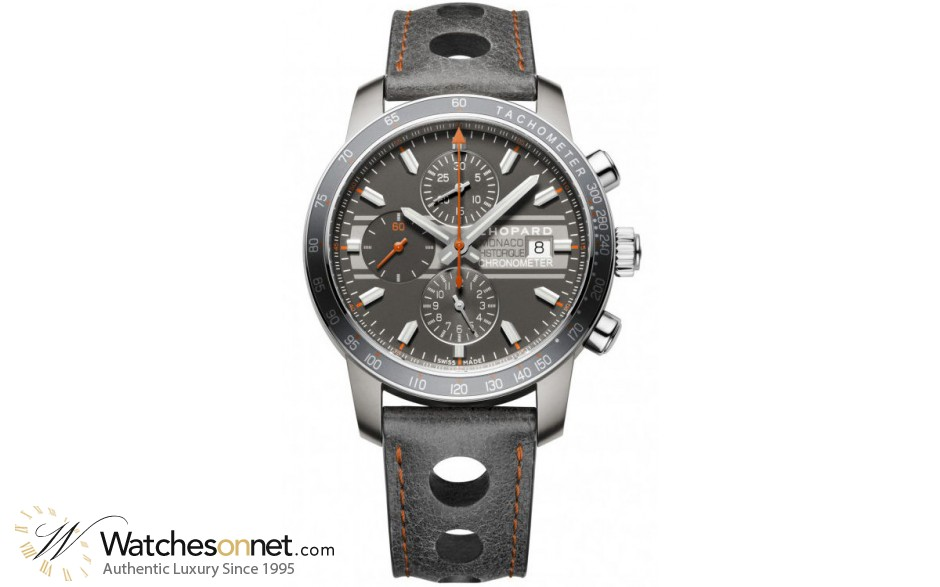 Chopard Classic Racing  Chronograph Automatic Men's Watch, Titanium, Grey Dial, 168992-3032