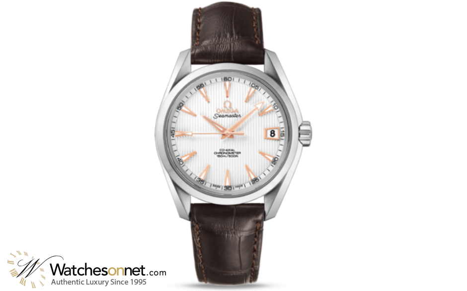 Omega Aqua Terra  Automatic Men's Watch, Stainless Steel, Silver Dial, 231.13.39.21.02.002