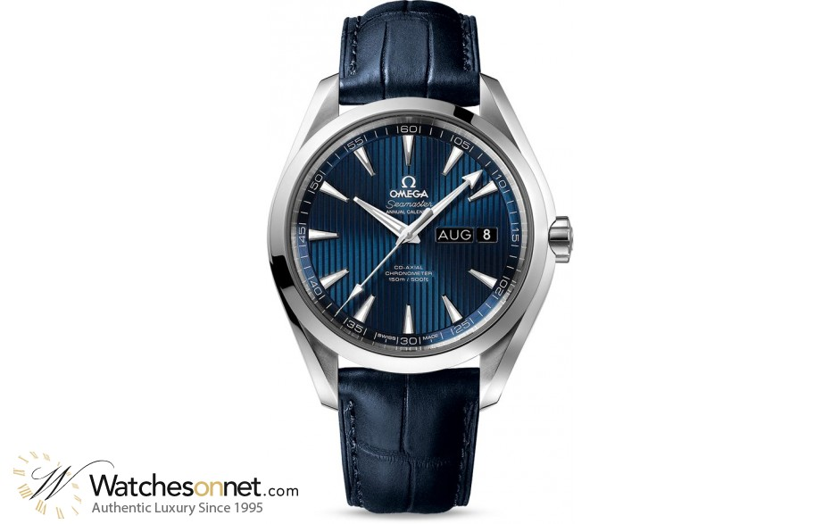 Omega Seamaster  Automatic Men's Watch, Stainless Steel, Blue Dial, 231.13.43.22.03.002