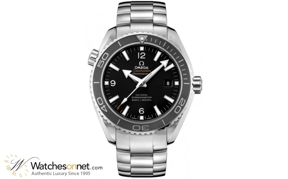 Omega Planet Ocean  Automatic Men's Watch, Stainless Steel, Black Dial, 232.30.46.21.01.001